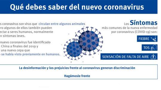 Coronavirus y PRL